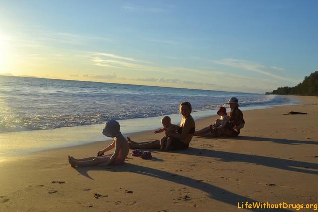 К нам приезжали друзья на остров Ко Ланта