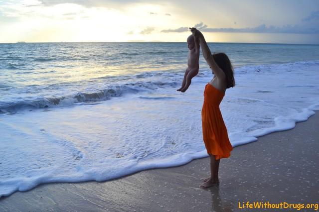 Мама, дочка и динамическая гимнастика
