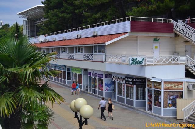 Гостиницы на набережной Сочи