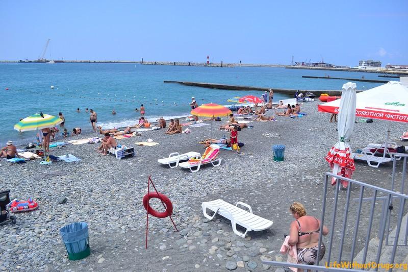 Пляжи Сочи фото
