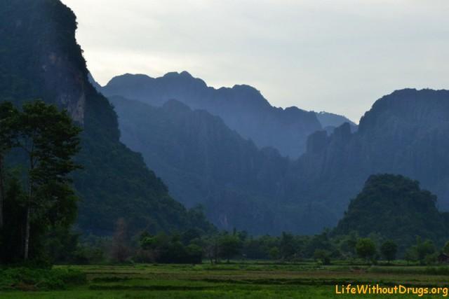 Красота Ванг Вьенга (Лаос)