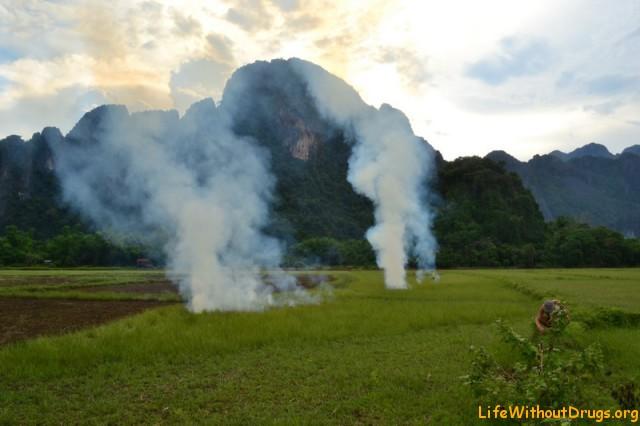 Ванг Вьенг - Красота Лаоса