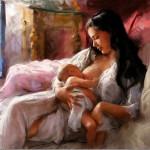Кормление грудью — полезная статья для мам.
