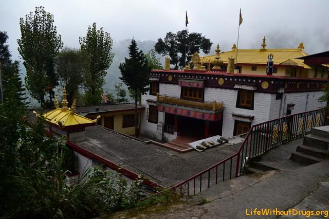 Будийский монастырь в Дарамсале