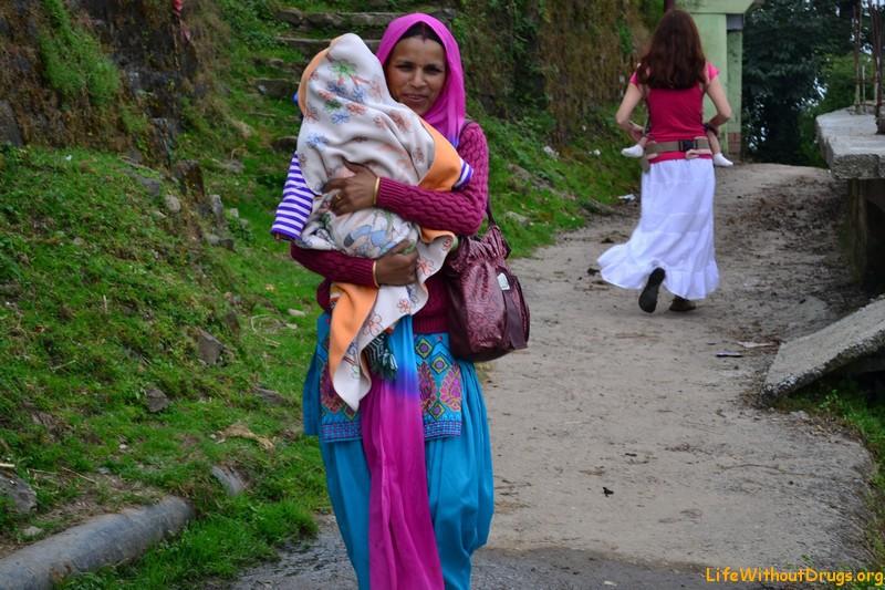 Верхняя Дарамсала,север Индии