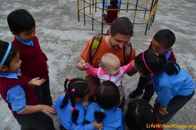 Школа для тибетских детей в Дарамсале