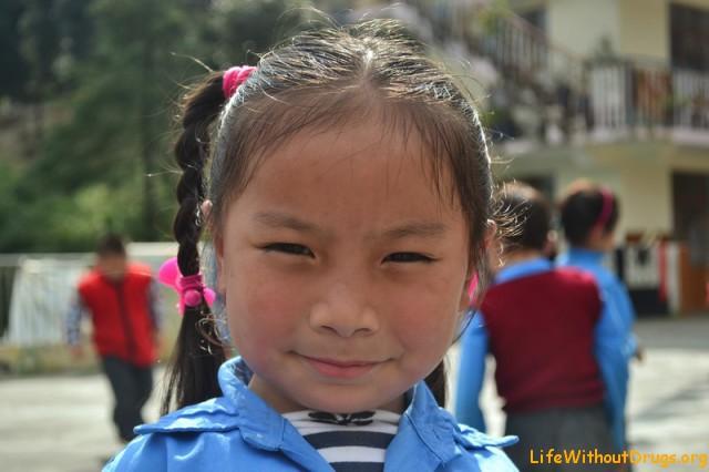 Тибетская школа для самых маленьких в Дарамсале