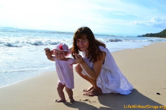 Гуляем по берегу Ланты