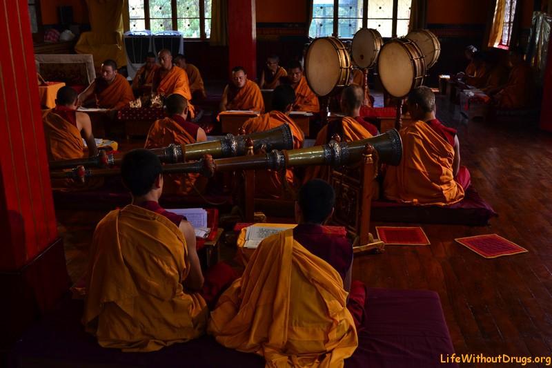 Монастырь Нечунг (Nechung Monastery)
