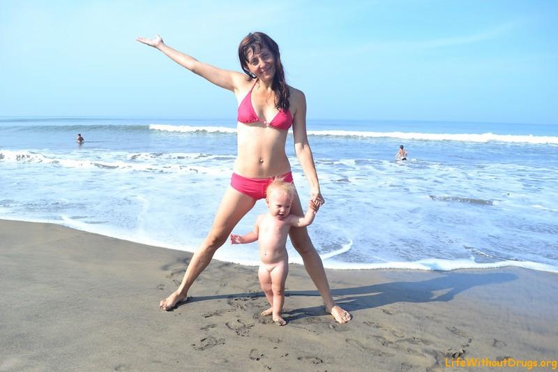 В Гоа с детьми