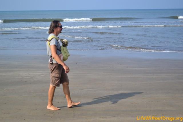 утро на море в Гоа