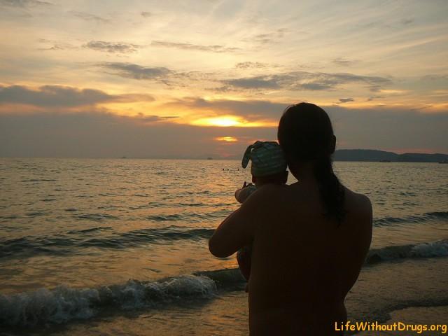 Провожаем закат в Ао Нанге