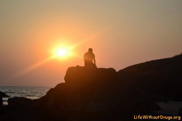 Закат в Гокарне