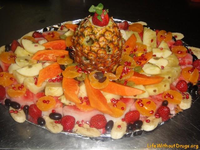 Тортик из фруктов
