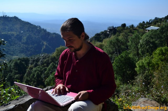 Составляю маршрут среди Гималаев