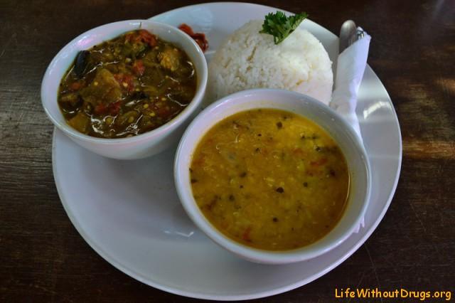Индийская кухня. Сабджи и дал.
