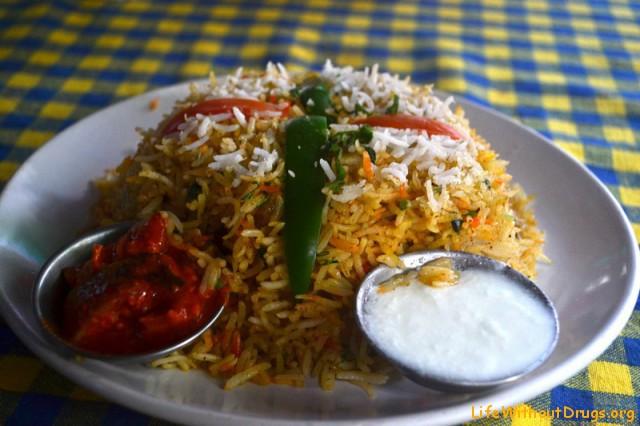 Индийская кухня. Бириани.