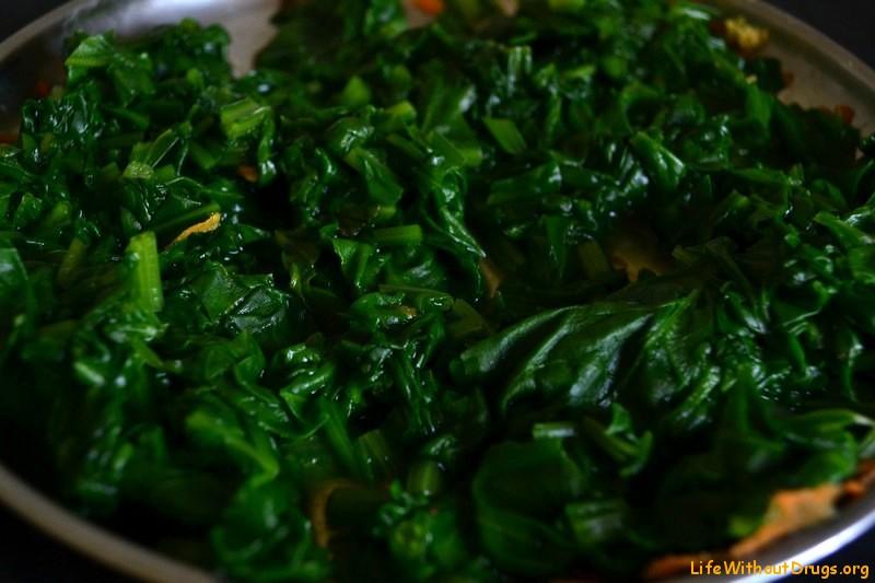Индийская кухня. Рецепт Палак Панира.