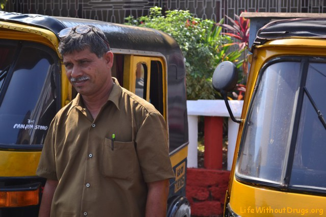 Индийские рикши, фото