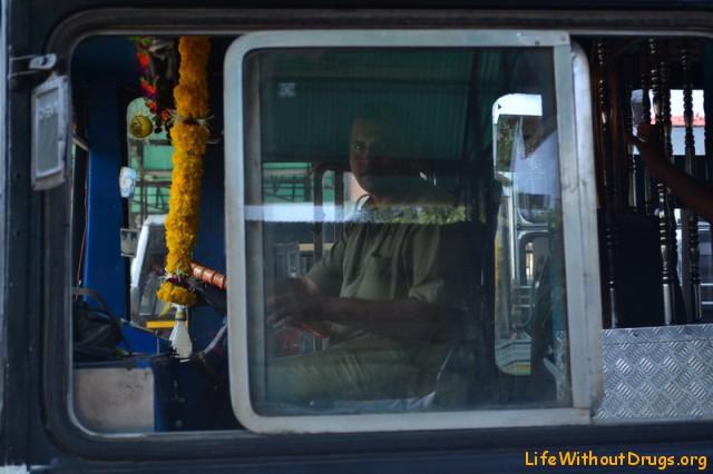 Индийские автобусы