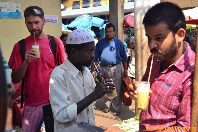 Индийский рынок фото