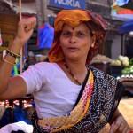 Индийский рынок в Мапсе (Гоа)