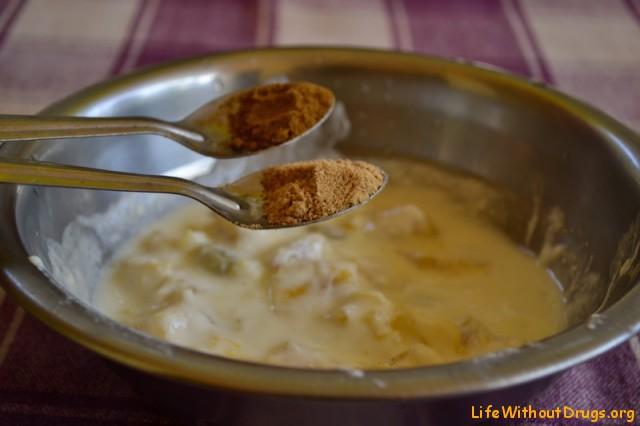 Индийская кухня. Рецепт райты из ананаса