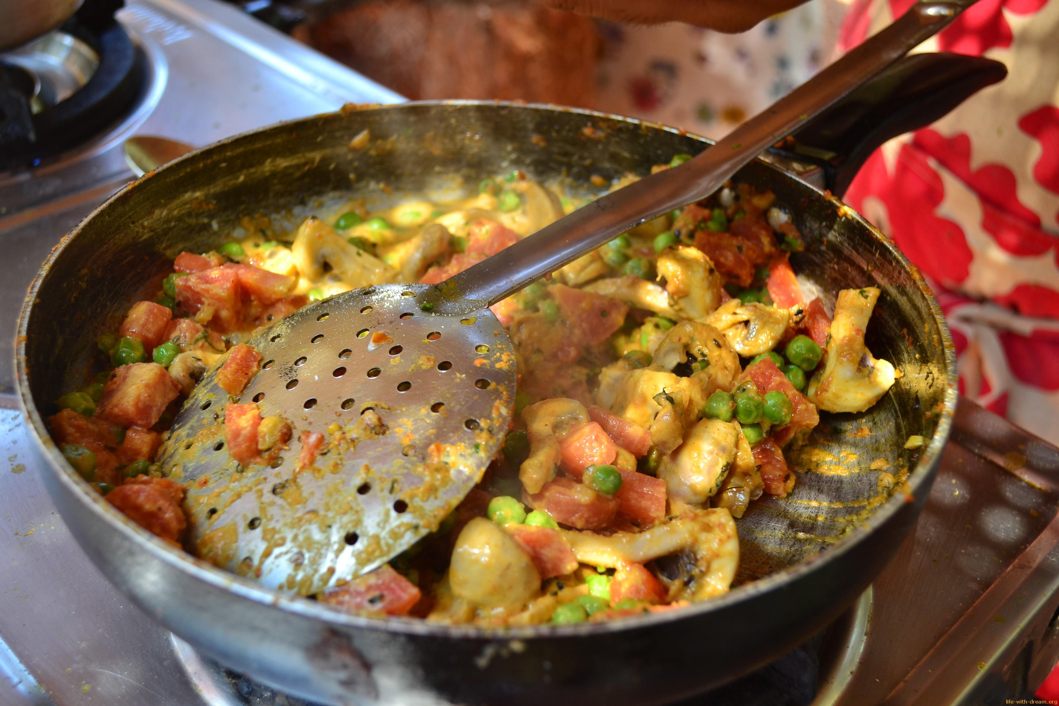 Индийская кухня рецепты мясных блюд