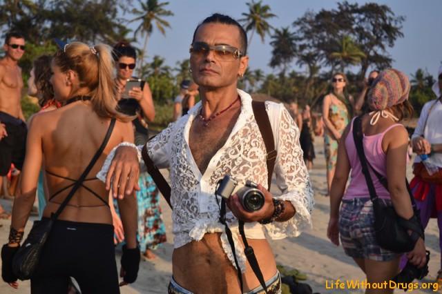 Фестиваль фриков в Гоа