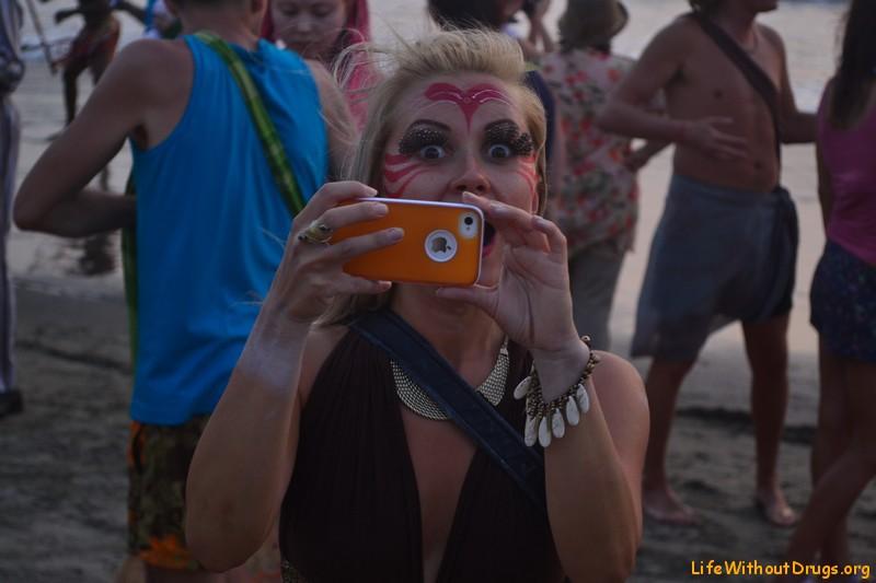 Парад фриков в Гоа -фоторепортаж