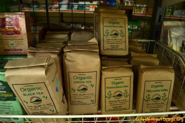 чай и кофе органик