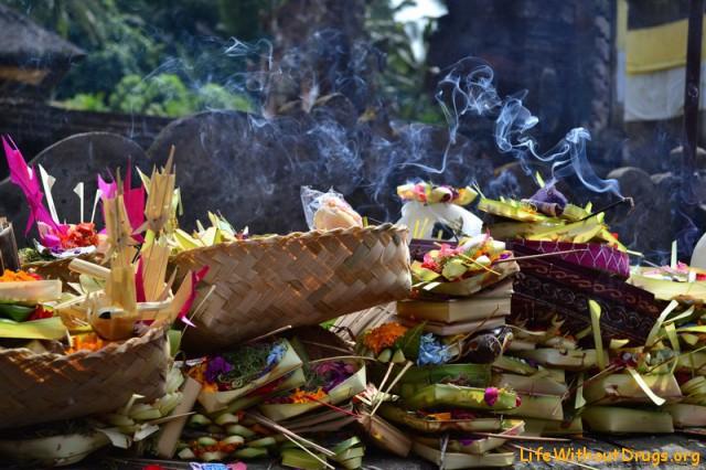 Священные источники на Бали