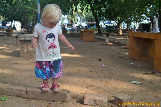 Наша малышка в Кочине