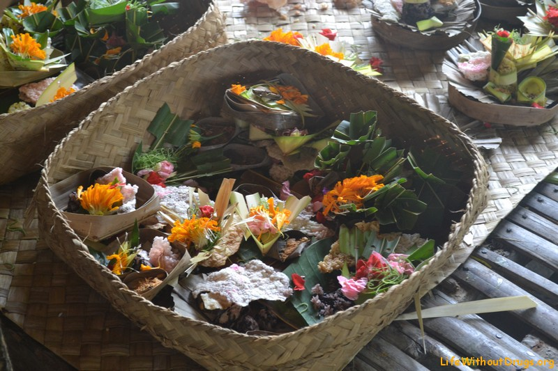 Подготовка церемоний в храме