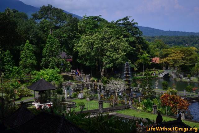 Водные дворцы Бали