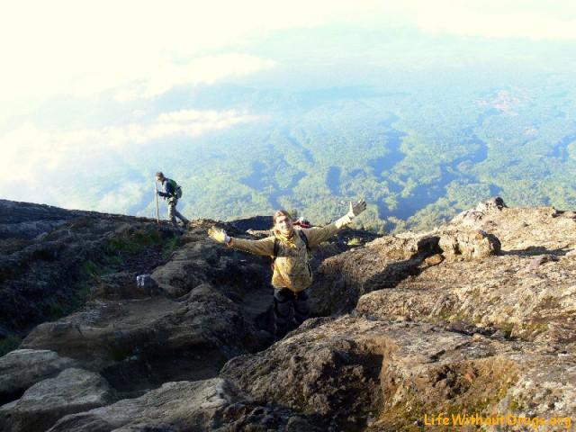 Восхождение на вулкан Агунг