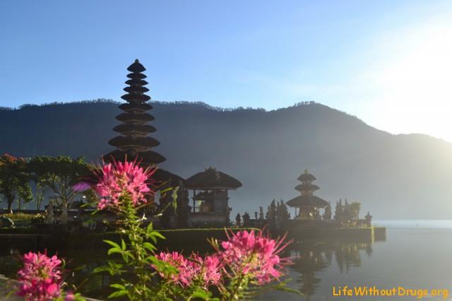 Озеро Братан утром