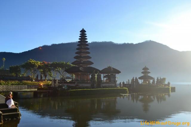 Озеро Братан Бали