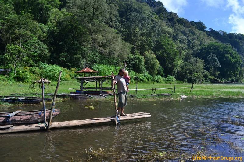 Достопримечательности Бали - озеро Тамблинган