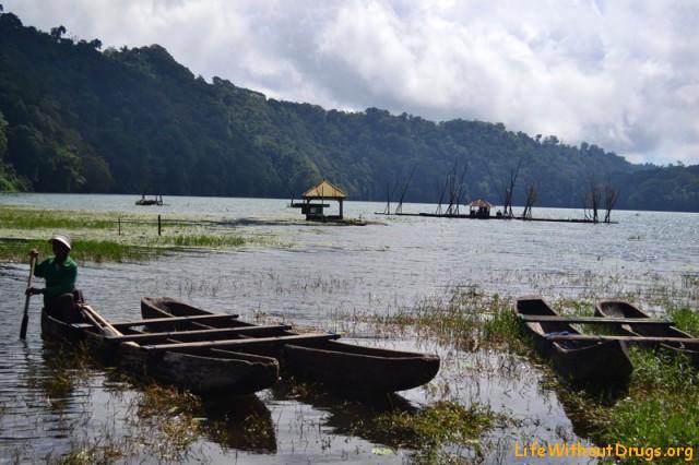 Лодочник на Бали