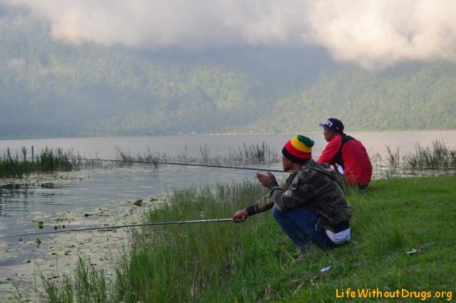 Рыбаки в Бедугуле