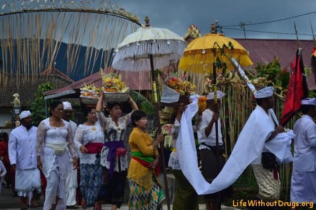 Балийцы и церемония