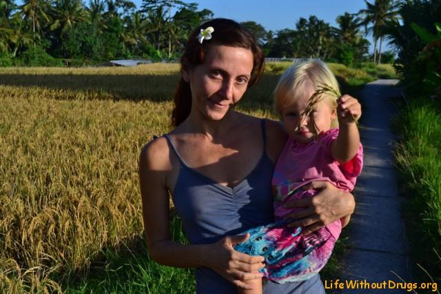 бали фото рисовые поля