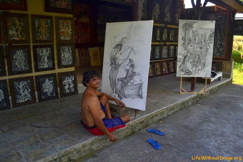 Живопись острова Бали