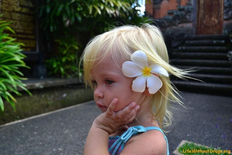 Ярослава на Бали