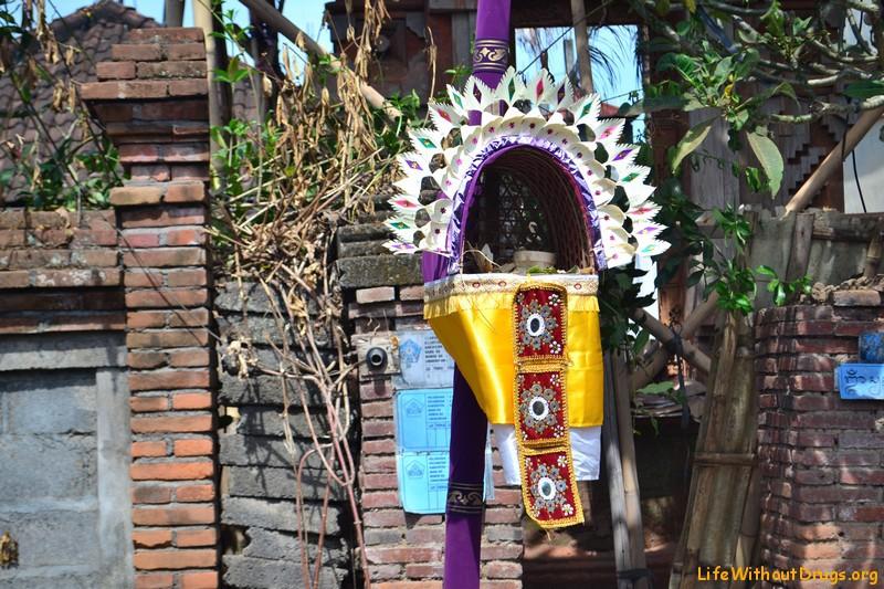 Жители острова Бали