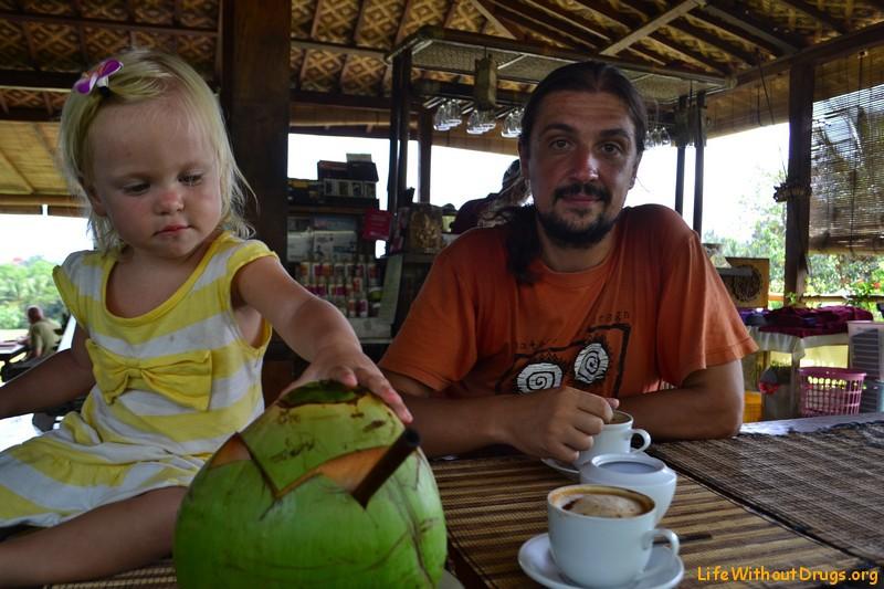 Кафе в Убуде