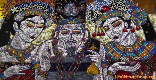 балийская живопись