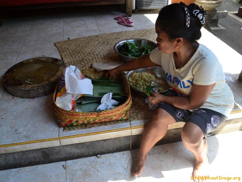Балийский дворик