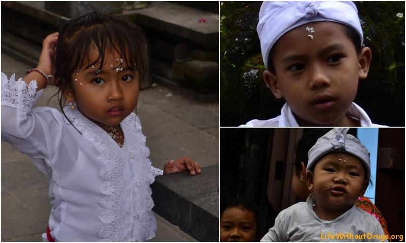 Балийские детки